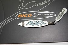 BICO Australia's FLAMIN (B105) silver plated pendant with light blue accent