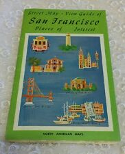 1970 North American Maps - Street Map - View Guide of San Francisco