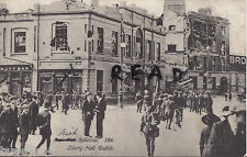 WW1 Scene Easter Rising Dublin 1916 Liberty Hall Valentine series Ireland