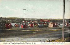 c.1910 BEV looking North Walden NY post card Orange County