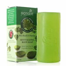 Biotique Bio Basil & Parsley Body Soap Pure Fruit & Vegetable Extracts 150 Gram