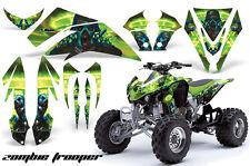 Kawasaki KFX 450 AMR Racing Graphic Kit Wrap Quad Decals ATV 08-14 ZOMBIE GREEN