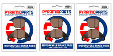 ADLY 100 Thunderbike 2001 Front & Rear Brake Pads Full Set (3 Pairs)