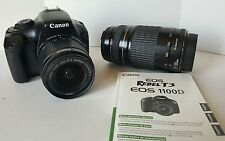 Canon EOS Rebel T3 / EOS 1100D 12.2MP Digital SLR Camera - Black (Kit w/ EF-S IS