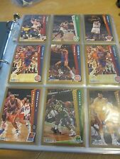 Binder Full of Fleer Basketball Cards 92-93 - 23 Pages - 9 Cards a Page - NBA