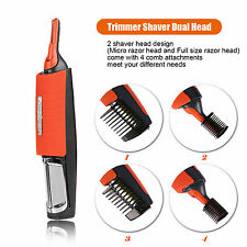 Micro Touch Switchblade Groomer All In One Hair Trimmer Head To Toe Ears & Nose