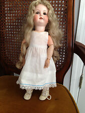 "Antique Heubach Koppelsdorf 14 "" Bisque and Composite Body Doll Model 250"