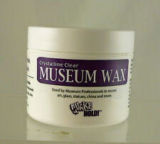 Crystalline Clear Museum Wax, Craft , Hobby, House Hold, Collectable, Quake Hold