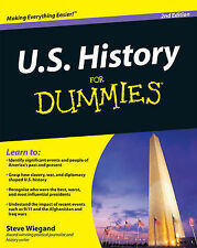U.S. History For Dummies by Steve Wiegand (Paperback, 2009)