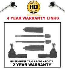 FOR CORSA C HEAVY DUTY LINKS TRACK TIE ROD END ENDS STEERING RACK ENDS BOOTS