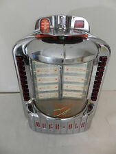 VINTAGE JUKEBOX WALLBOX-1950'S ROCK OLA WALLBOX- #1544- VINTAGE DINER- ROCKOLA