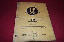 Ford 8000 9000 Tractor I&T Shop Manual BVPA