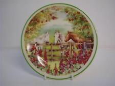 Fenton empresa China De Porcelana Inglesa Ann blockley Caballos Té / Placa Lateral