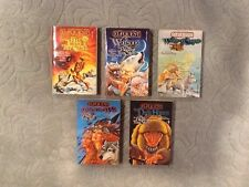 Elfquest: The Blood of Ten Chiefs #1 2,3,4 & 5  paperback novels Complete NEW!!