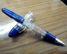 Serwex 1362 Clear Demo Fountain Pen Piston Filler Fine Nib