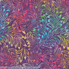 MODA Fabric ~ DE LA SOL BATIKS ~ Violet Sunset (4337 24) - by the 1/2 yard