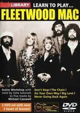 LICK LIBRARY LEARN TO PLAY FLEETWOOD MAC Big Love Don't Stop Rock GUITAR DVD