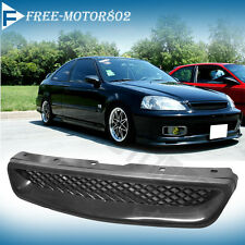 99-00 Honda Civic EK CX DX EX HX LX JDM Type R Front Hood Grill Grille Abs