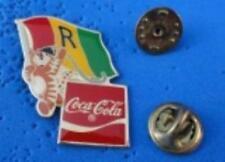 1988 Coca Cola Ltd Edition Flag Pin - Rwanda