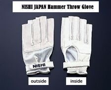 NISHI JAPAN Hammer Throw Glove Soft type for Left hand T5711A size:XL