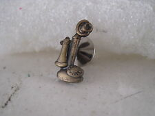 Antique Telephone     mint  19??  lapel pin ( 3m25  23 )