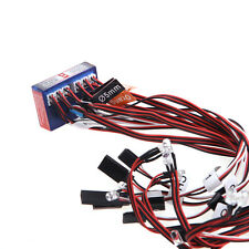 Highlight 12 LED 3CH Flashing Light System for RC Car G.T.POWER Smart PPM/FM/FS
