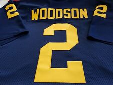 #00 Michigan COLLEGE FOOTBALL JERSEY - Your Name&Number Sewn On.Size: