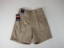 Mens Shorts Khaki Casual Shorts with Expander Waistband 30 x 7