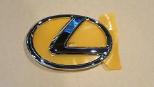 2011 2012 Genuine New Lexus IS250 Chrome Front Grille Emblem w Adhesive Backing