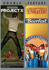 Project X / Beerfest (DVD, 2014, 2-Disc Set, Double Feature) *NEW* FREE Shipping
