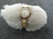 Vintage Orvin Wind Up Ladies Watch with a Stretch Band