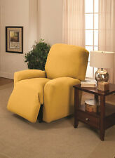 YELLOW---WASHABLE COVERS FOR SOFA COUCH  LOVESEAT CHAIR RECLINER FUTON