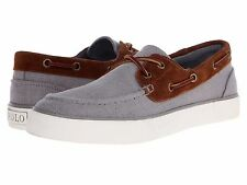 Polo Ralph Lauren Mens Rylander Lace Up Casual Fashion Boat Sneakers Shoes Kicks