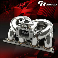 FOR HONDA ACURA B-SERIES B16A1 B18 T3 RAM HORN RACING TURBO CHARGER MANIFOLD KIT