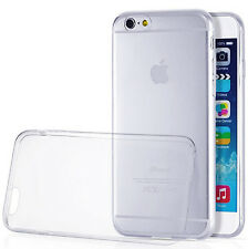 For Apple iPhone 6/6s Case Slim Transparent Crystal Clear Soft TPU Back Cover