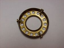 """2 1/4"""" FITTER ANTIQUE BRASS SCREW-ON UNO TYPE SHADE HOLDER LAMP PART 10786AJB"""