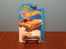 Hot Wheels '70 Ford Mustang Mach 1 #97 of 250 Mustang 50th 2014 Dark Yellow 1970