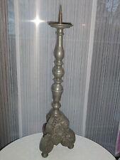 Antiker großer Barock Kerzenhalter Kerzenleuchter aus Zinn um ca.1870