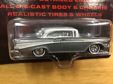 Hot Wheels 2007 Ultra Hots '57 Chevy Bel Air Grey w/RR Real Riders