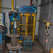 HYDRAULIC Test PRESS COIL SPRING RATE TESTING MITUTOYO ALC-3705  AD-4322