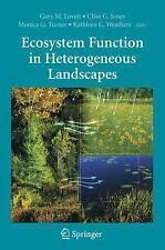 Ecosystem Function in Heterogeneous Landscapes, All Amazon Upgrade, Professional