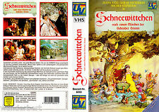 "VHS - "" SCHNEEWITTCHEN ( Cannon Movie Tales: Snow White ) "" (1988) - Diana Rigg"