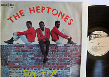 THE HEPTONES ON TOP REGGAE LP STUDIO ONE