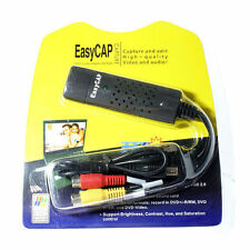 EasyCap Video And Audio Capturing Device + USB TV TUNER 1CHANNEL