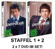 Petrocelli - Staffel / Season 1 + 2, 2 x 7 DVD Set NEU + OVP!