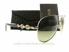 New Gucci Sunglasses GG 4239/N/S 0JJCC Gold Havana Aviator Authentic