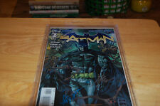 BATMAN 1 NEW 52 VARIANT  4X SIGNED BY CAPULLO SNYDER GLAPION AND VAN SCIVER.