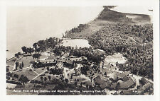 Aerial View Seigniory Club MONTEBELLO Quebec Canada 1930-50s ASN Real Photo PC