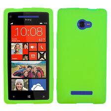 MYBAT Solid Skin case (Electric Green) for HTC Windows Phone 8X