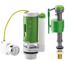 Croydex Universal Flush & Fill Toilet Cistern Valve Push BUTTON KIT with Cable